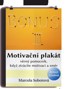 motivační plakát zjednodušujeme aneb více místa pro život, Marcela Sobotová