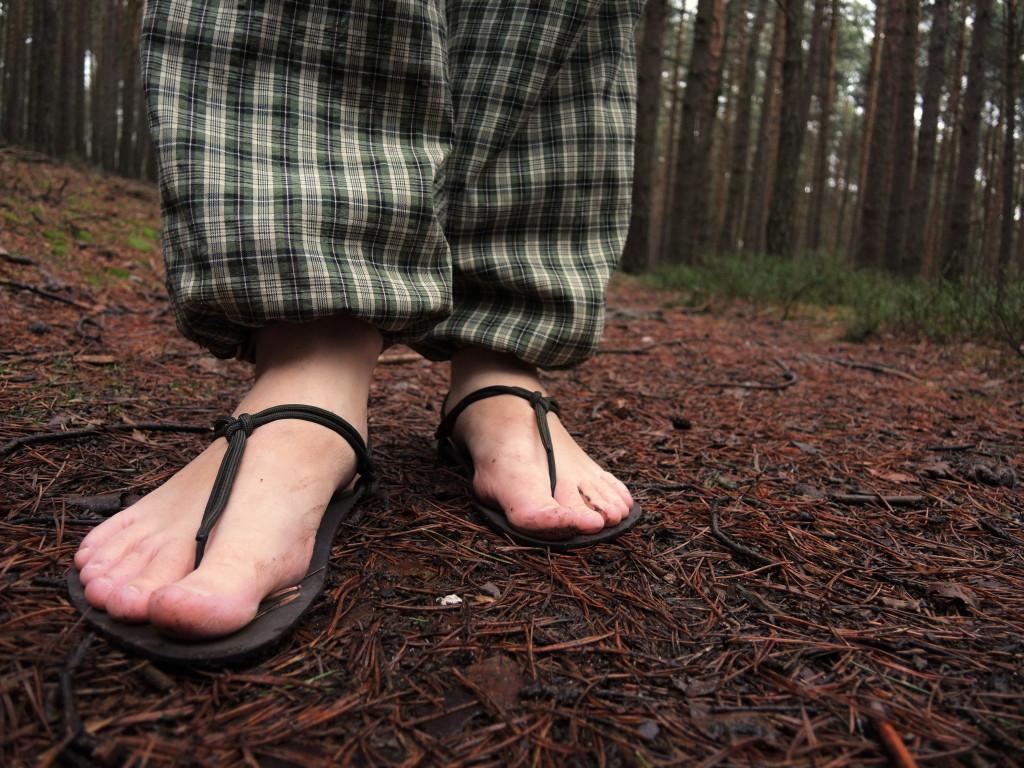 chození naboso, barefoot obuv, Marcela Sobotová