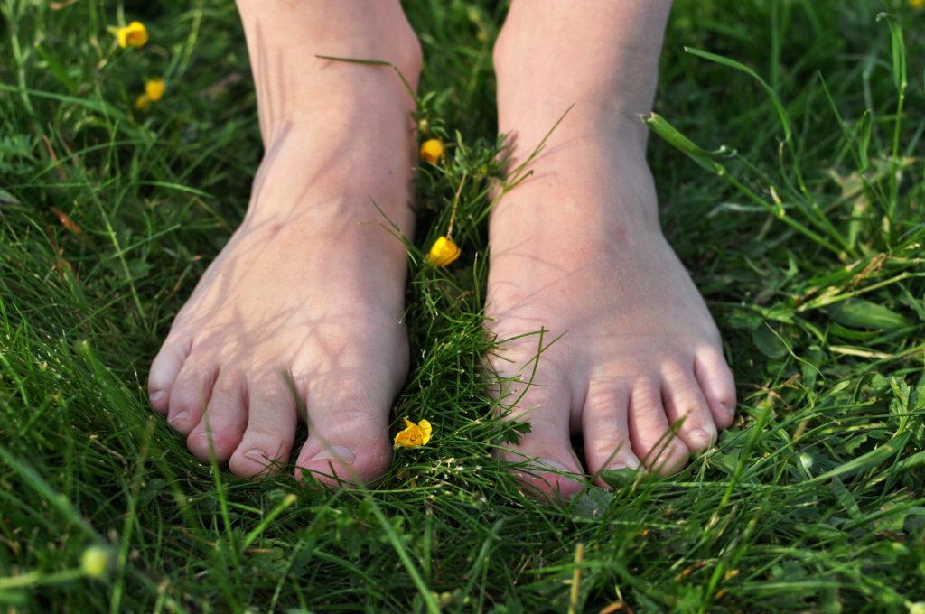 úskalí bosé chůze, chození naboso, minimalismus, Marcela Sobotová