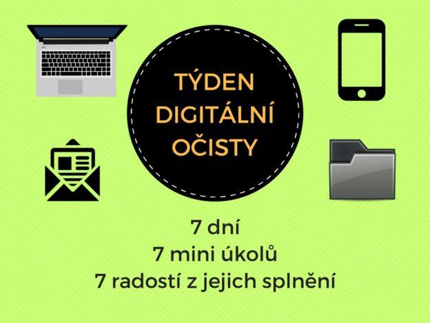 digitální očista, týden digitální očisty, Marcela Sobotová, minimalismus, výzva