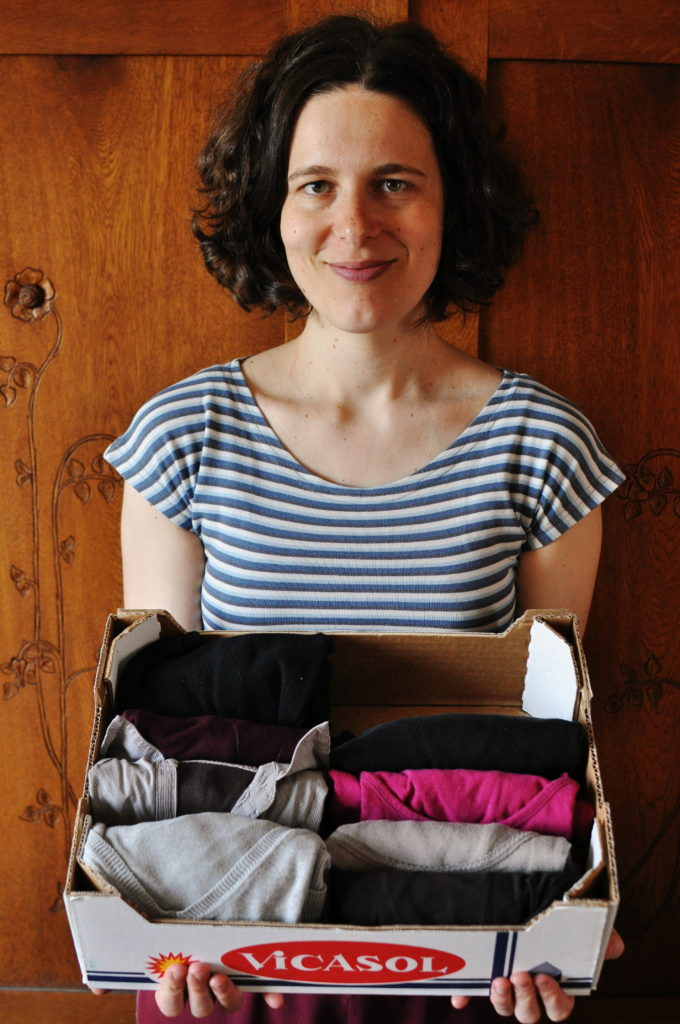 capsule wardrobe, Marie Kondo, KonMari, minimalismus, Marcela Sobotová