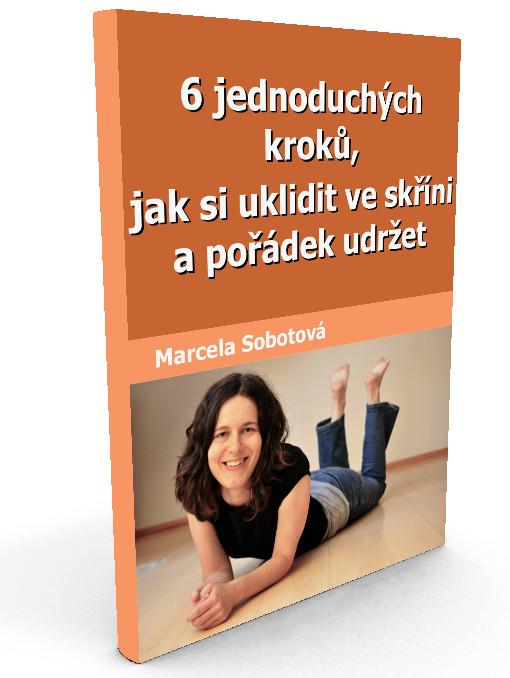 eBook zdarma, 6 jednoduchých kroků, jak si uklidit ve skříni a pořádek udržet, minimalismus, Marcela Sobotová