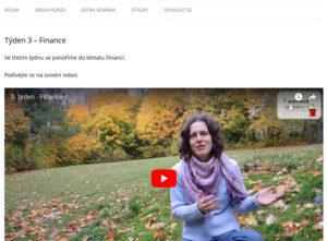 online kurz, 7 semínek k jednoduchosti, minimalismus, obsah kurzu