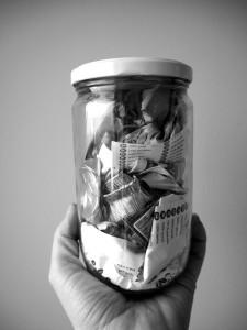 Martina Kročilová, Zero Waste, odpad za 1 měsíc