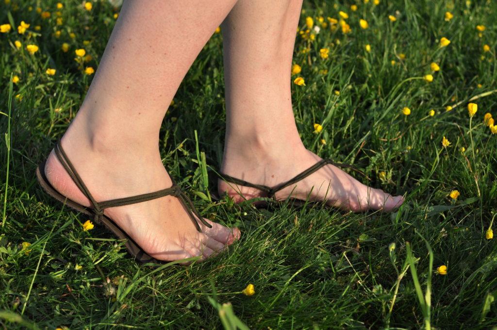 úskalí bosé chůze, chození naboso, barefoot, Marcela Sobotová