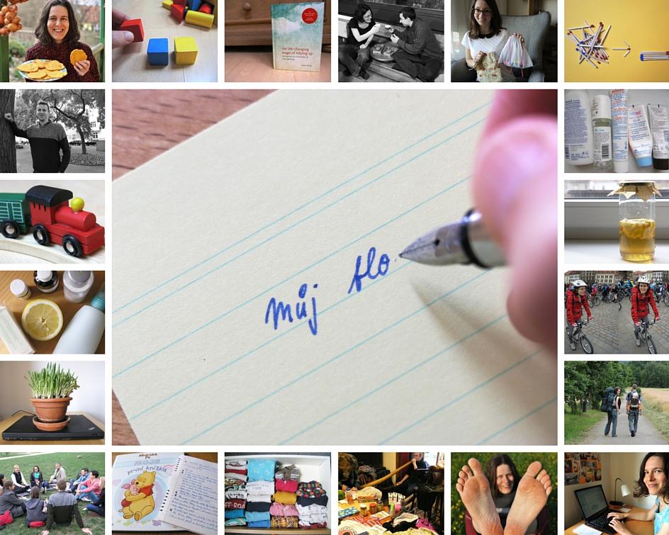 první narozeniny blogu, žijeme minimalismem, minimalismus, Marcela Sobotová