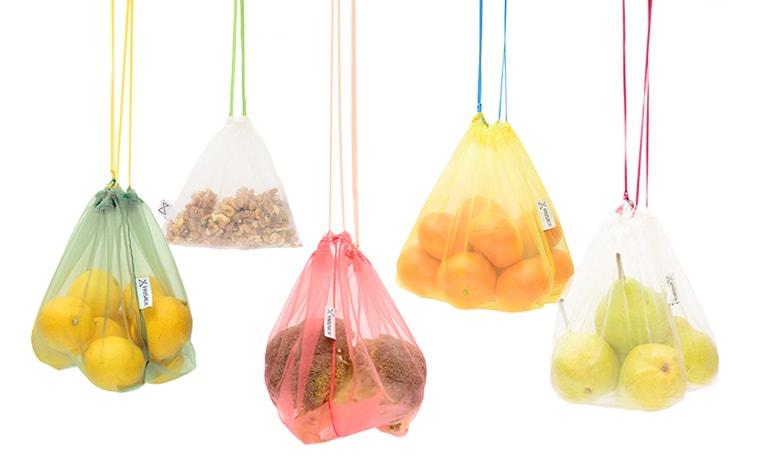 Frusack, pytlík, zelenina, kompostovatelný, zero waste, náhrada mikrotenového sáčku, sáček