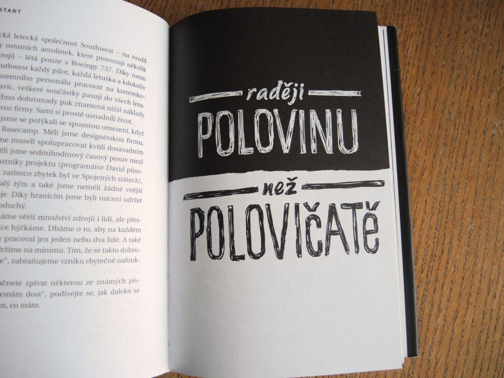 podnikatelský minimalismus, restart, Marcela Sobotová, Jason Fried, David Heinemeier Hansson, Jan Melvil Publishing, 37 signals