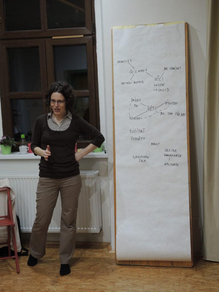 akce, minimalismus, Marcela Sobotová, seminář