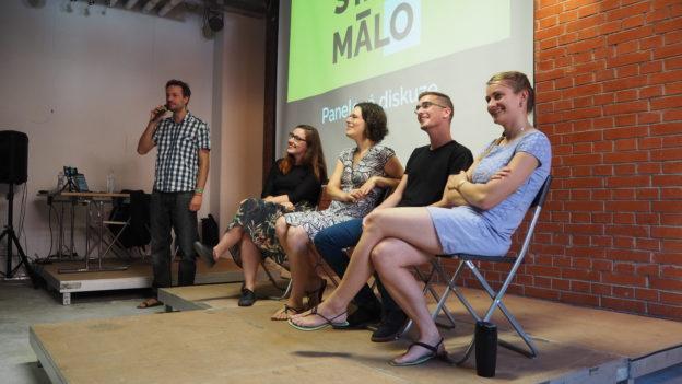 Stačí málo, minimalismus, festival, Brno, Marcela Sobotová