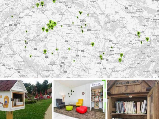 mapa knihobudek, knihobudka, knihobudky, veřejné miniknihovničky, rozhovor, Jan Bičák, minimalismus, Marcela Sobotová