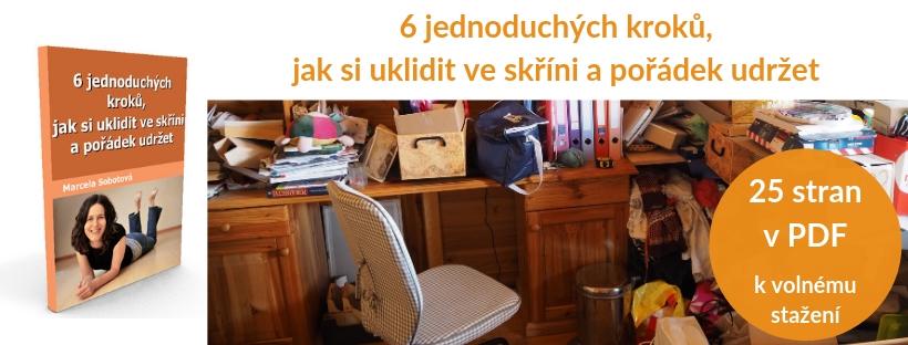 eBook, návod, příručka, minimalismus, Marcela Sobotová, jak si uklidit, jak pořádek udržet, e-kniha