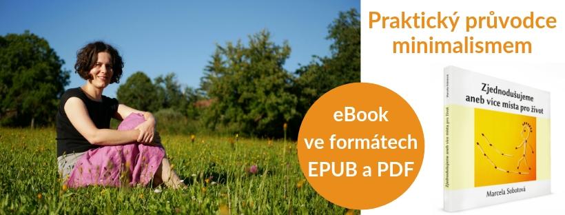 eBook, návod, průvodce, příručka, minimalismus, Marcela Sobotová, simplicity living, jak minimalizovat, e-kniha