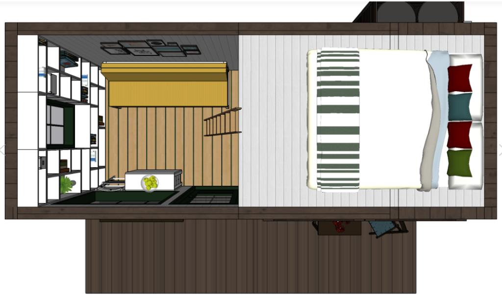 tiny house, minimalismus, bydlení, sdílený tiny house, Mário Martinelli, Ester Dobiášová, rozhovor