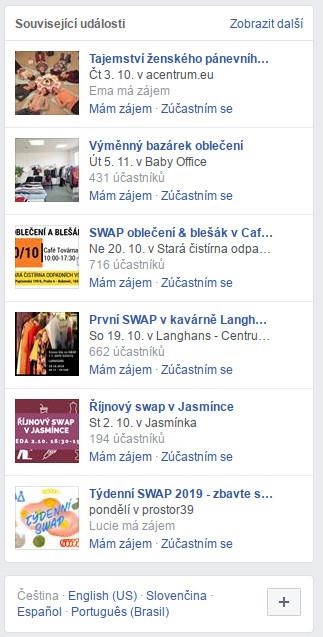swap, kdy bude swap, kdy bude další swap, facebook událost, minimalismus