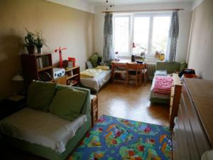 bydlení, minimalismus, Marcela Sobotová, malý prostor, jak uspořádat, dětský pokoj, obývací pokoj