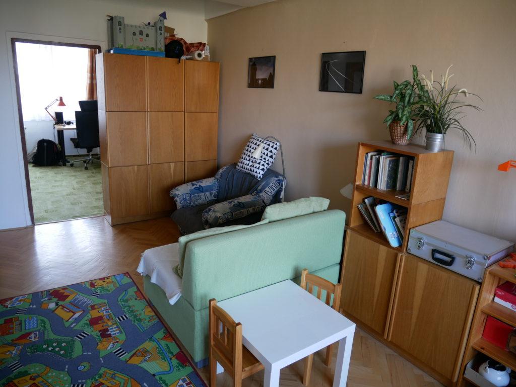 bydlení, minimalismus, Marcela Sobotová, malý prostor, jak uspořádat, pokoj, obývací pokoj