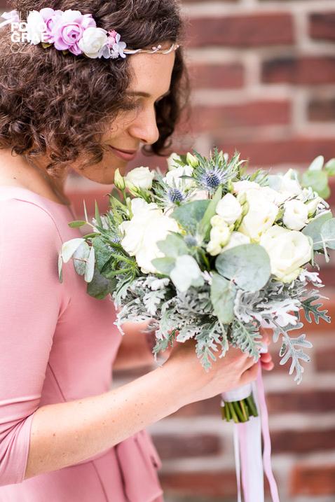 organizace svatby, květiny