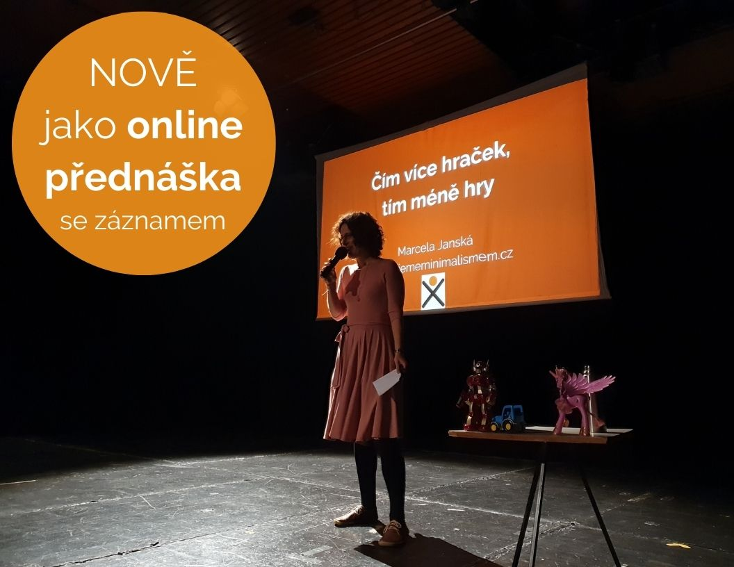akce, webinář, online, minimalismus, Marcela Janská,
