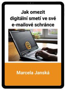 eBook, digitální detox, digitální minimalismus, e-maily, zahlcení, počítač, Marcela Janská