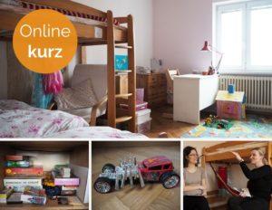 online kurz, hračky, děti, třídění, minimalismus, Marcela Janská
