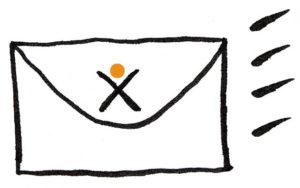 minimalisticky obcasnik, newsletter, Marcela Janská