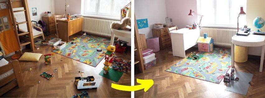 online kurz, dětský pokoj, hračky