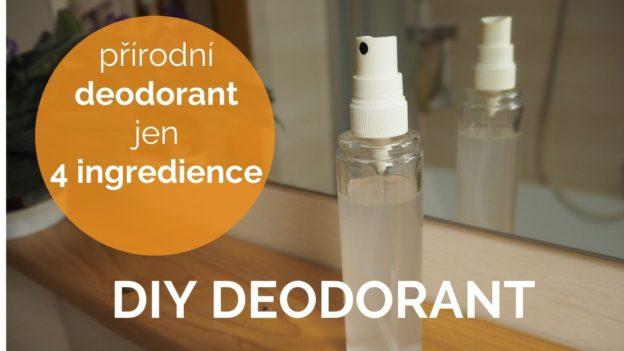 deodorant recept diy, přírodní kosmetika