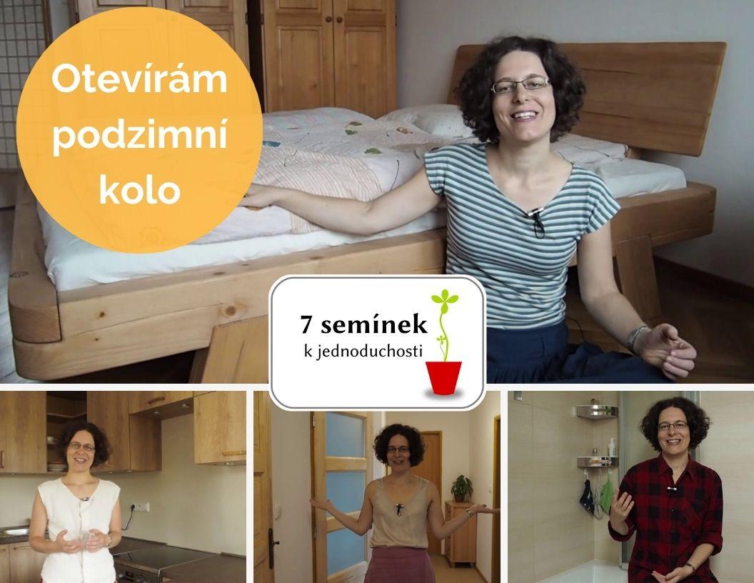 7 semínek k jednoduchosti, kurz, minimalismus, Marcela Sobotová, Marcela Janská, online