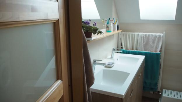 koupelna, rekonstrukce, minimalismus